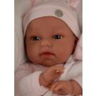 Antonio Juan Zvuková bábika Toneta Cojin Rosa na vankúši, 34cm