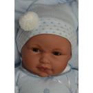 Antonio Juan Zvuková bábika bábätko Lolo žmurkací, 55cm