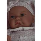 Antonio Juan Látková bábika bábätko Nica, 40cm v spacom vaku
