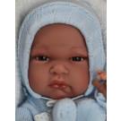 Antonio Juan Realistické bábätko Tonet Invierno, 33cm chlapček v zimnom