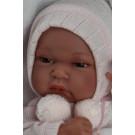Antonio Juan Realistické bábätko Baby Toneta Invierno, 33cm dievčatko v zimnom