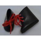 Paola Reina Las Amigas Topánky šnurovacie čierne vysoké, 32cm