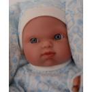 Antonio Juan Realistické bábätko Mufly Arrullo, 21cm chlapček