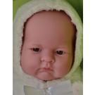 Berenguer Realistické bábätko dievčatko Lily, 46cm s kapuckou