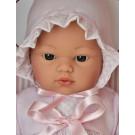 Asivil Látkové bábätko Koke, 36cm so srdiečkom