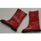 Paola Reina Las Amigas Čižmičky červené vyššie so suchým zipsom 32cm