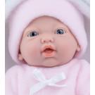 Marina & Pau Realistické bábätko dievčatko, 21cm v spacom vaku