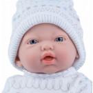 Marina & Pau Realistické bábätko chlapček, 21cm na vankúši