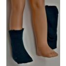Paola Reina Las Amigas Ponožky pletené tmavozelené, 32cm
