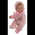 Berjuan Baby Smile Bábika dievčatko, 30cm v pyžamku