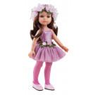 Paola Reina Las Amigas šatočky Carol ružová baletka, 32cm