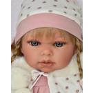 Antonio Juan Zvuková bábika Any Trenzas, 37cm blond vrkoče