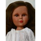 Vidal Rojas Bábika Little Naia brunetka, 35cm biela blúzka