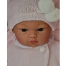 Asivil Látkové bábätko Koke, 36cm v zavinovačke