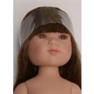 Vestida de Azul Bábika Carlota hnedé vlasy, 28cm bez oblečenia