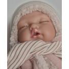 Antonio Juan Polohovacie bábätko Luni Invierno, 29cm v zimnom