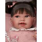 Antonio Juan Látková bábika bábätko Pipa, 40cm s copíkmi