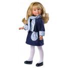 Asivil Bábika Celia blond, 30cm v modrom