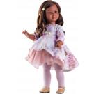 Paola Reina Las Reinas Multikĺbová bábika černoška Sharif, 60cm kvietky