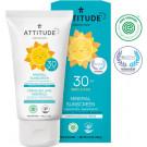 Attitude Opaľovací krém Baby & Kids SPF30 bez vône, 150g