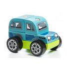Cubika Drevené skladacie autíčko terénny voz