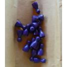 DETOA Náhradné figúrky do spoločenských hier drevené fialová, 1ks