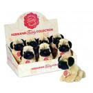 Teddy Hermann Plyšový psík mops, 15cm