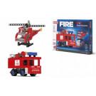 Efko ROTO stavebnica Maxi Fire 9v1, 377ks