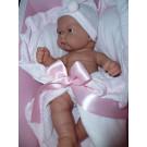 Antonio Juan Realistické bábätko Pitu v ružovom, 26cm
