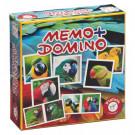 Piatnik Pexeso & Domino Papagáje