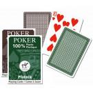 Piatnik Karty 100% plastic POKER, 54 kariet