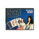 Piatnik Karty Kanasta France Royale Francúzski panovníci