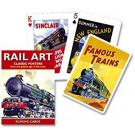 Piatnik Karty Rail Art, 54 kariet