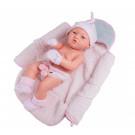 Paola Reina Realistické bábätko Pikolin Gris y Rosa, 36cm dievčatko