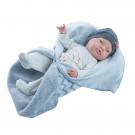 Paola Reina Realistické bábätko Bebita s dekou 2019, 45cm