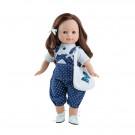 Paola Reina Las Blanditas bábika Virgi 2019, 36cm v modrom