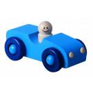 DETOA Drevené autíčko modré