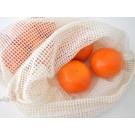 Bo Weevil Sieťovka na zeleninu alebo ovocie z biobavlny, 30x25