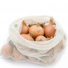 Bo Weevil Sieťovka na zeleninu alebo ovocie z biobavlny, 38x28