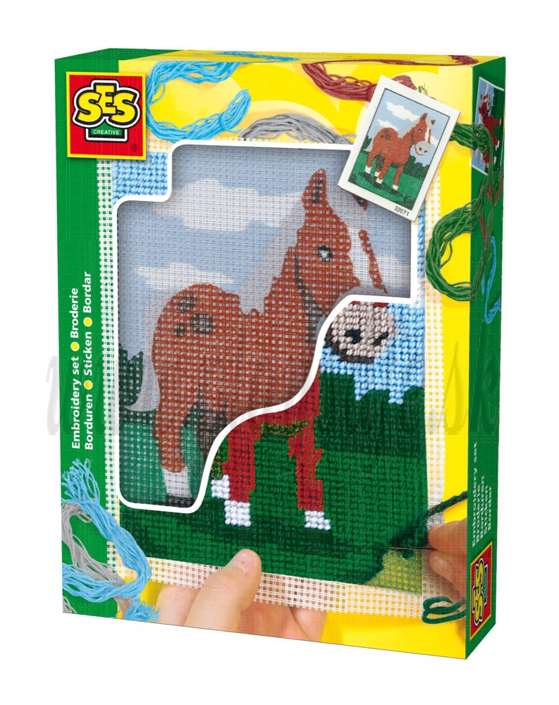 SES Creative Embroidery Set Horse