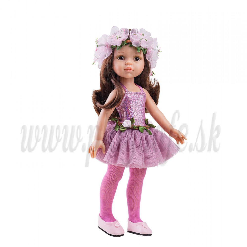 Paola Reina Las Amigas Doll Carol ballerina, 32cm