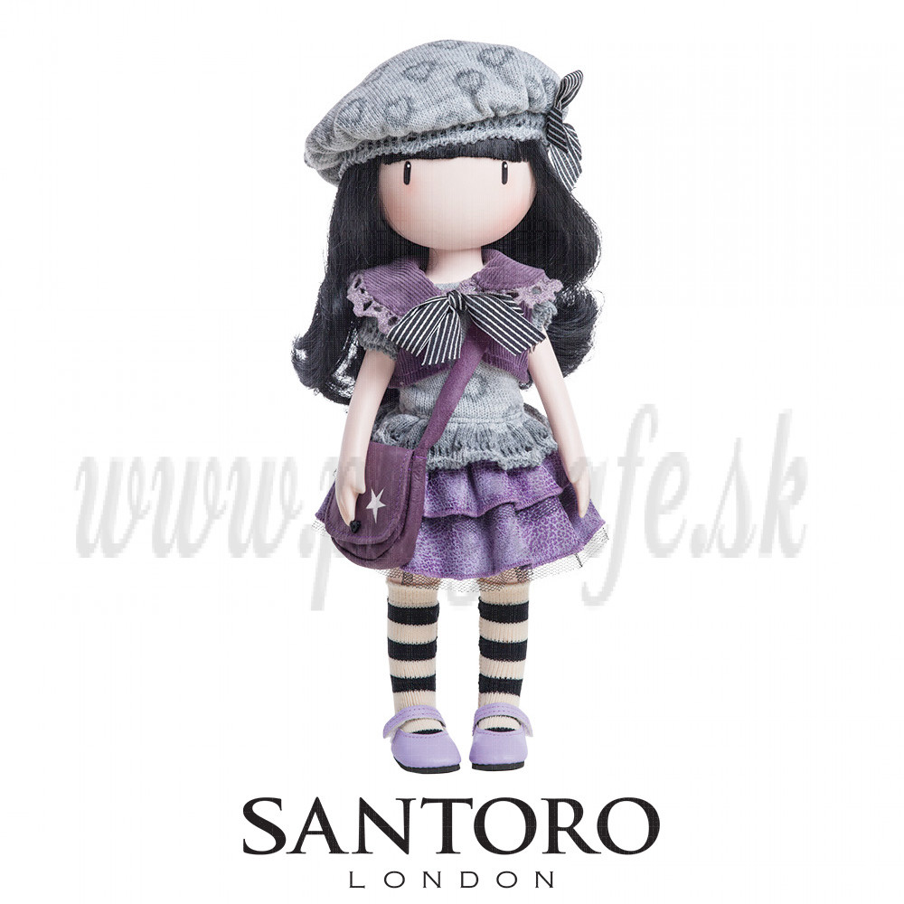 Santoro London Gorjuss Doll Little Violet, 32cm