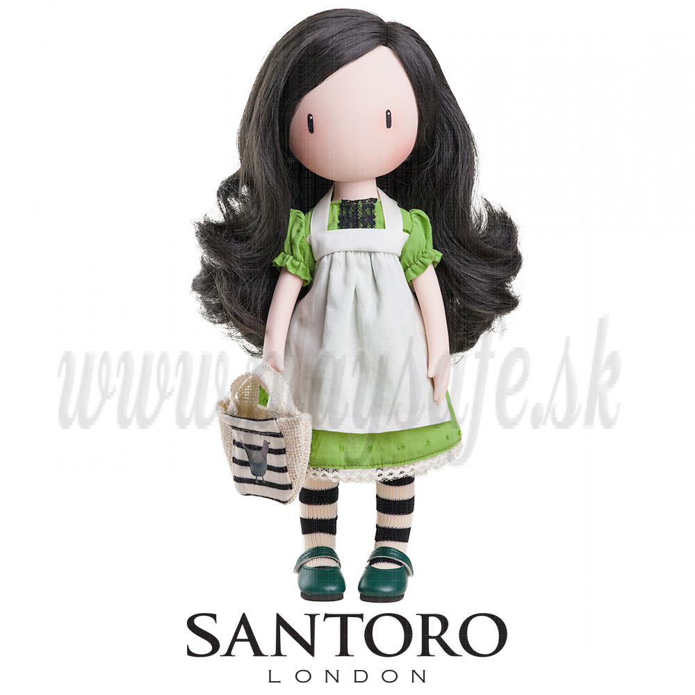 Santoro London Gorjuss Doll On Top Of The World, 32cm