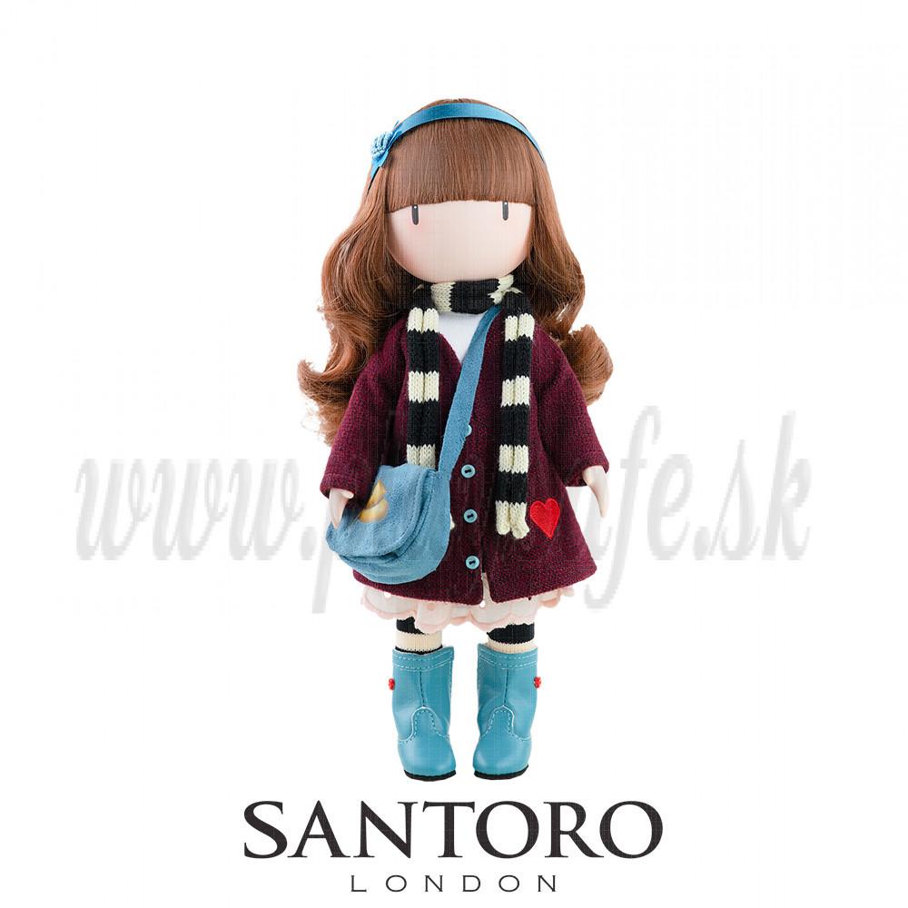 Santoro London Gorjuss Doll Little Foxes, 32cm