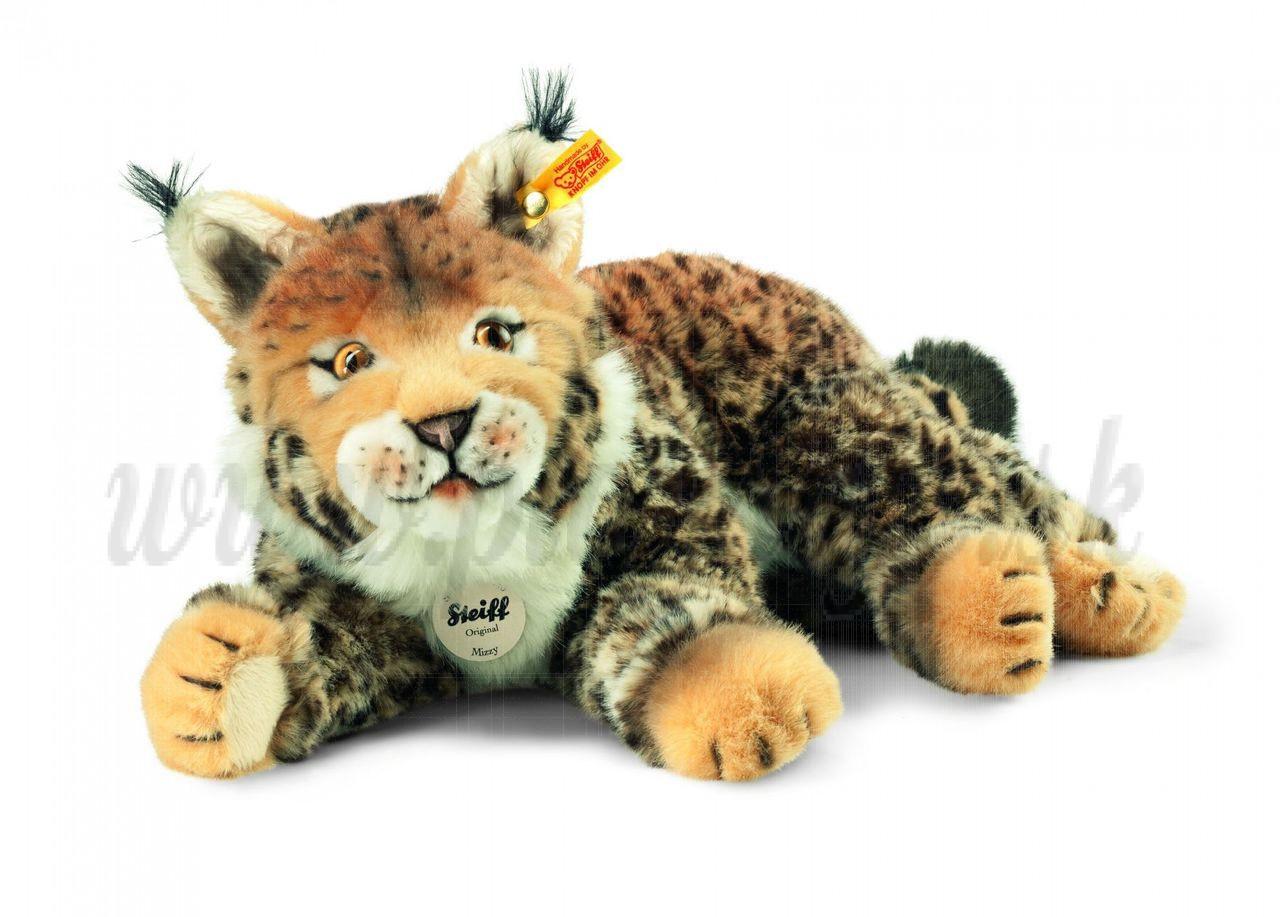 Steiff National Geographic Soft toy Lynx Mizzy, 35cm