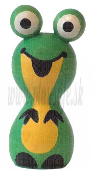 DETOA Wooden Magnet fairy-tale Frog