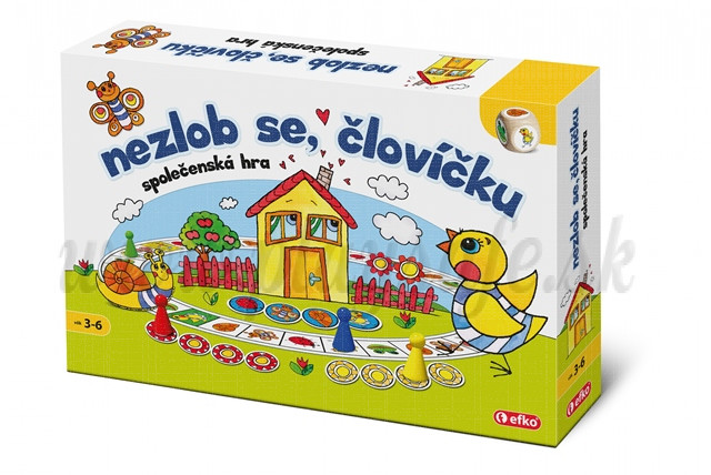 Efko Board Game Do not get annoyed, little one!