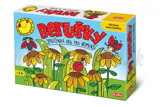 Efko Board Game Lady Bugs