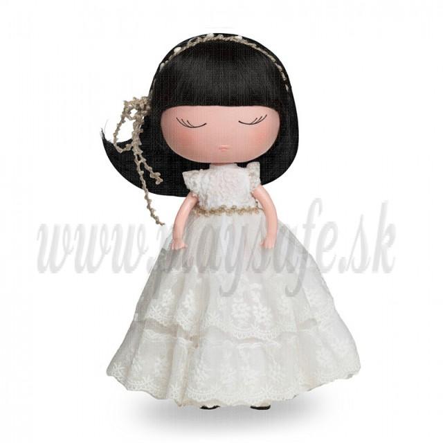 Berjuan Anekke Communion Doll, 32cm white dress