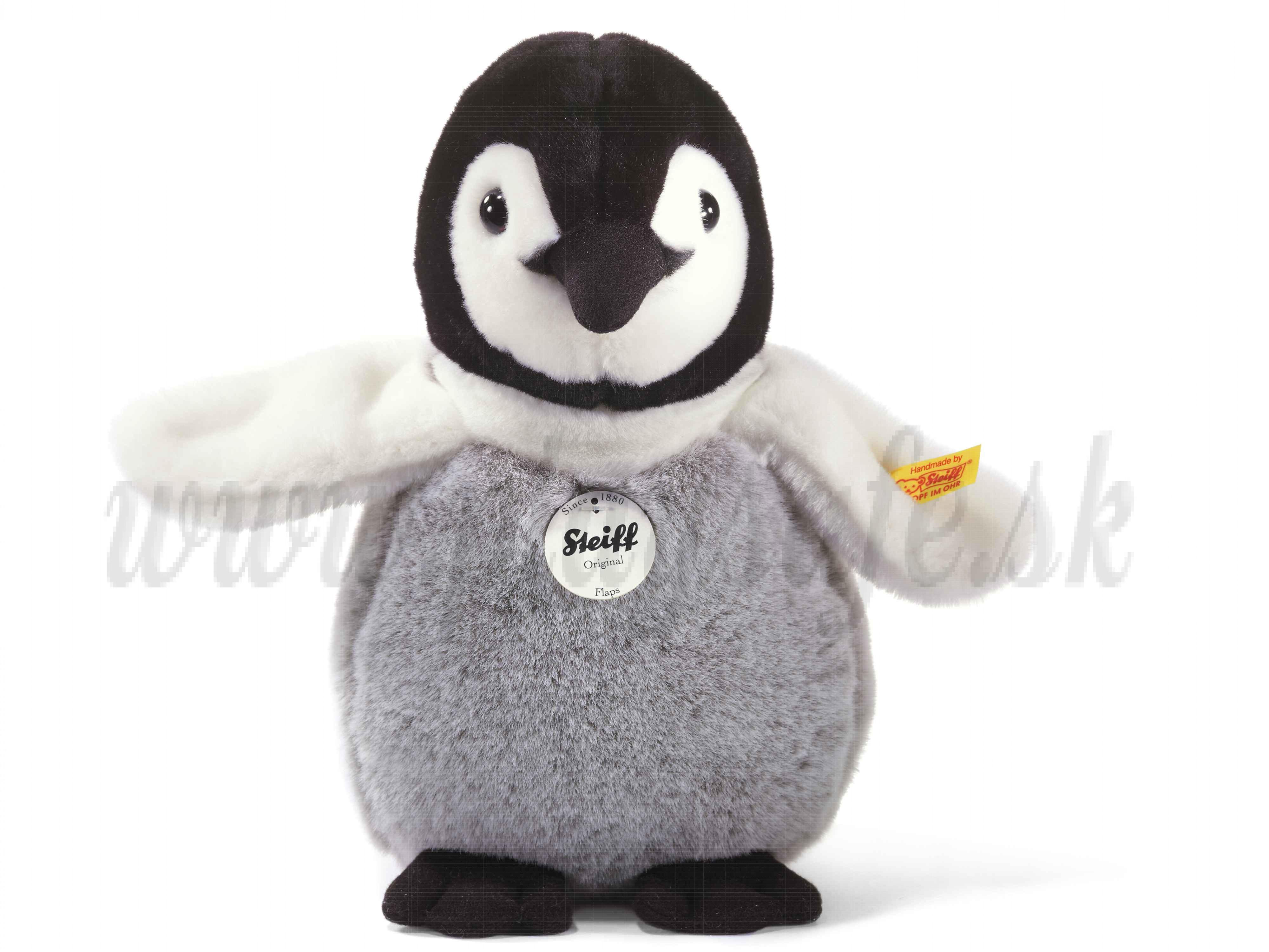 Steiff Soft toy Baby Penguin Flaps, 20cm